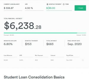 student loan refinance calculator
